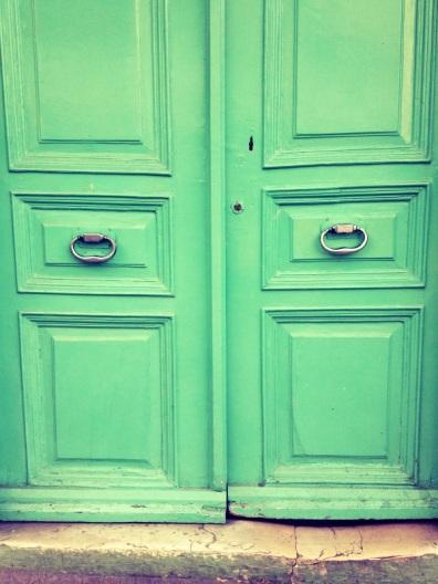 door to a mosque