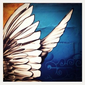 wings street art