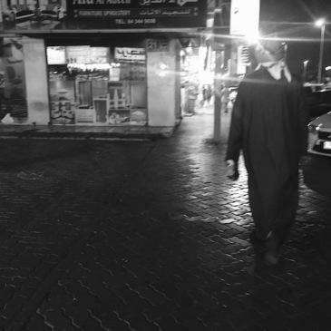 Walking down Al Satwa